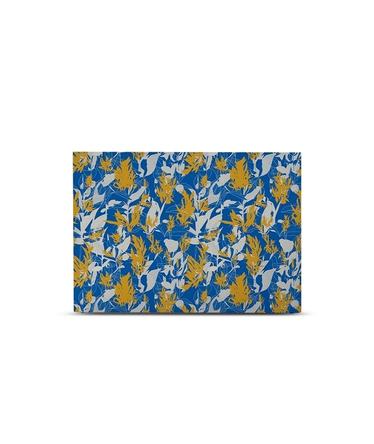 Tête de lit avec housse Bleu de cobalt 160 cm