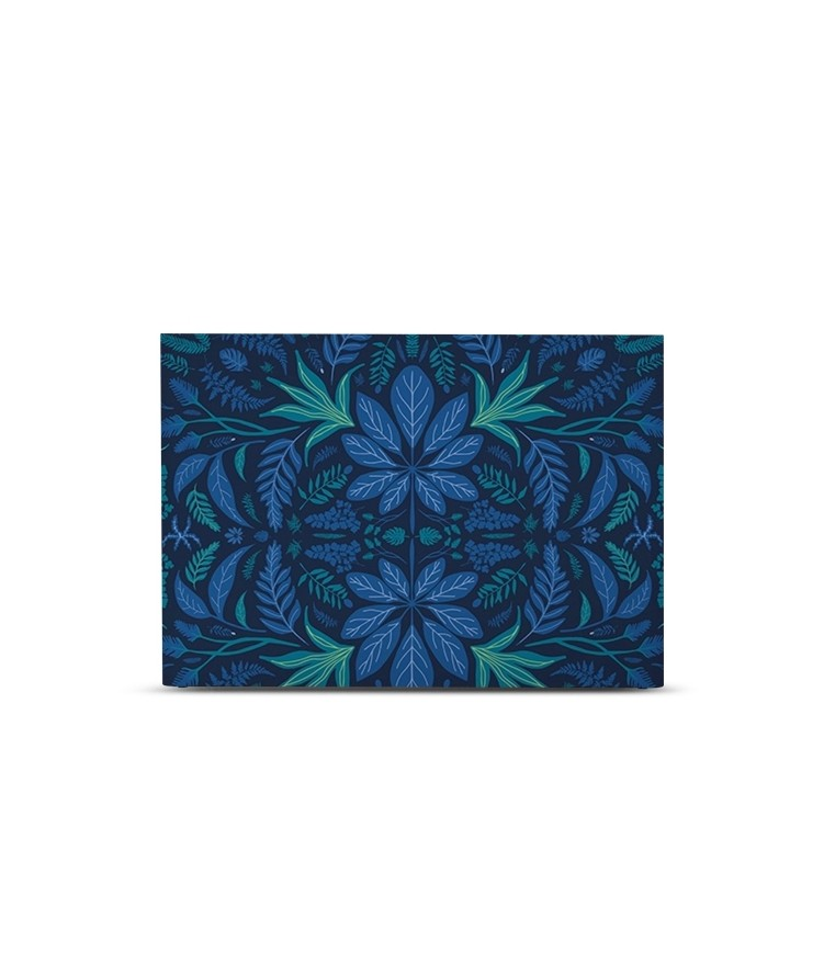 Tête de lit avec housse Bleu prusse 180 cm