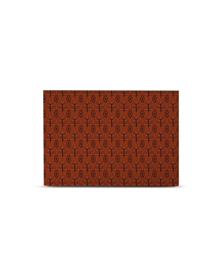 Tête de lit avec housse Ocre rouge 180 cm