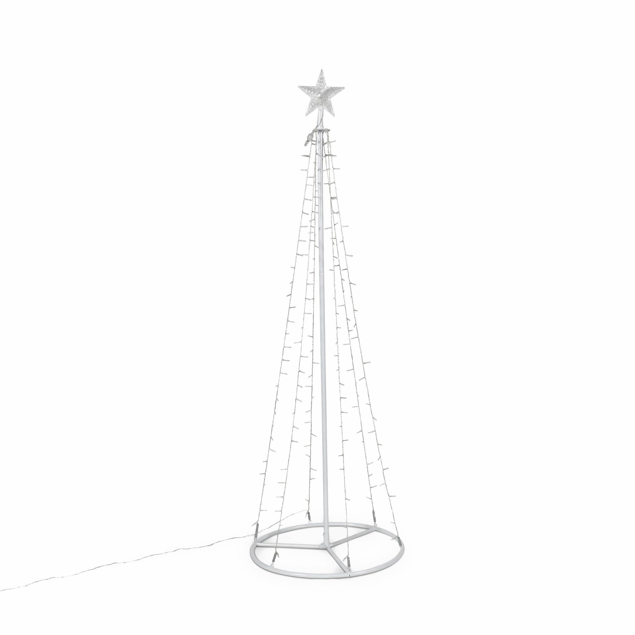 Arbre de Noël lumineuse intérieur ou extérieur avec 200 LEDS H180