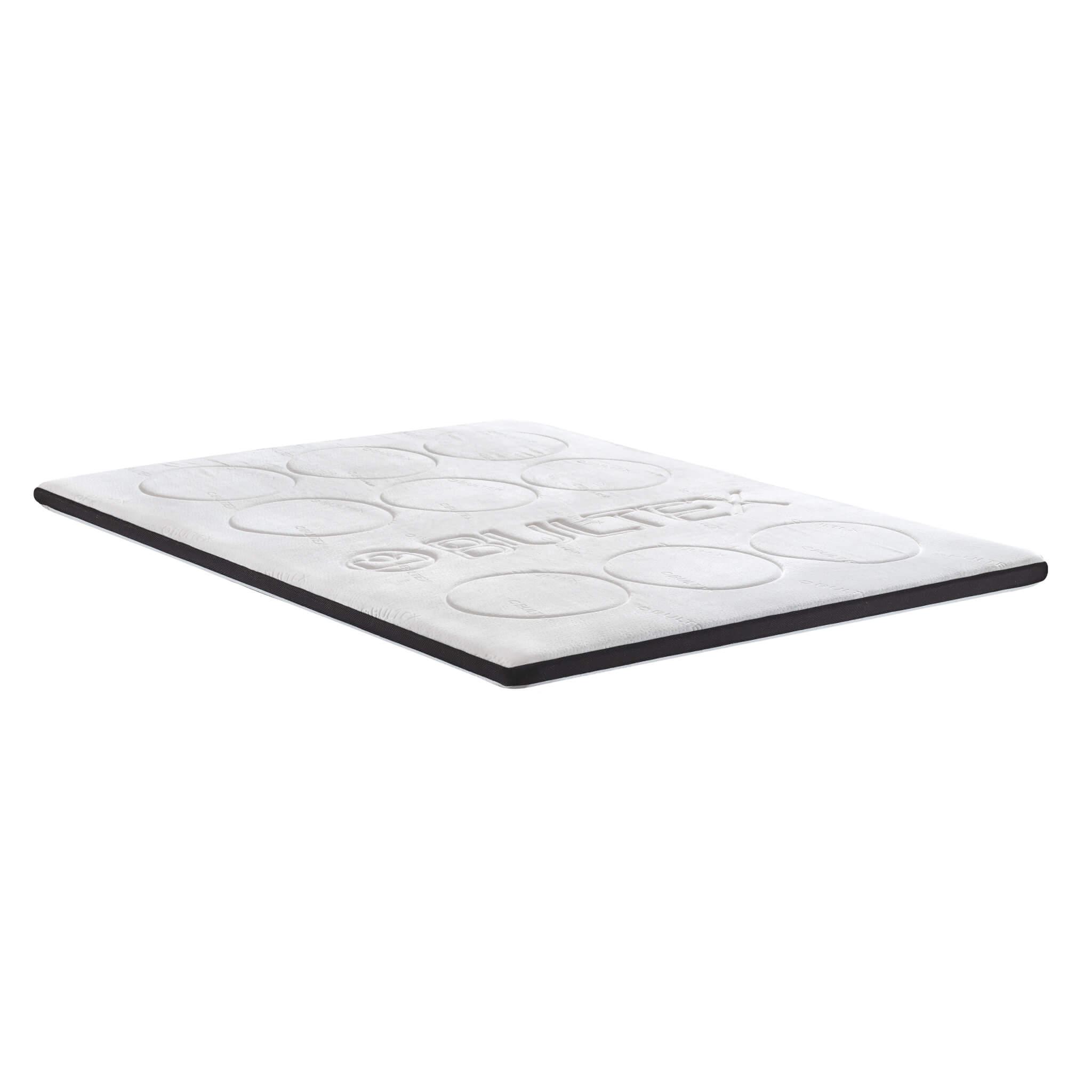 Surmatelas confort à mémoire de forme épaisseur 7cm 140x190