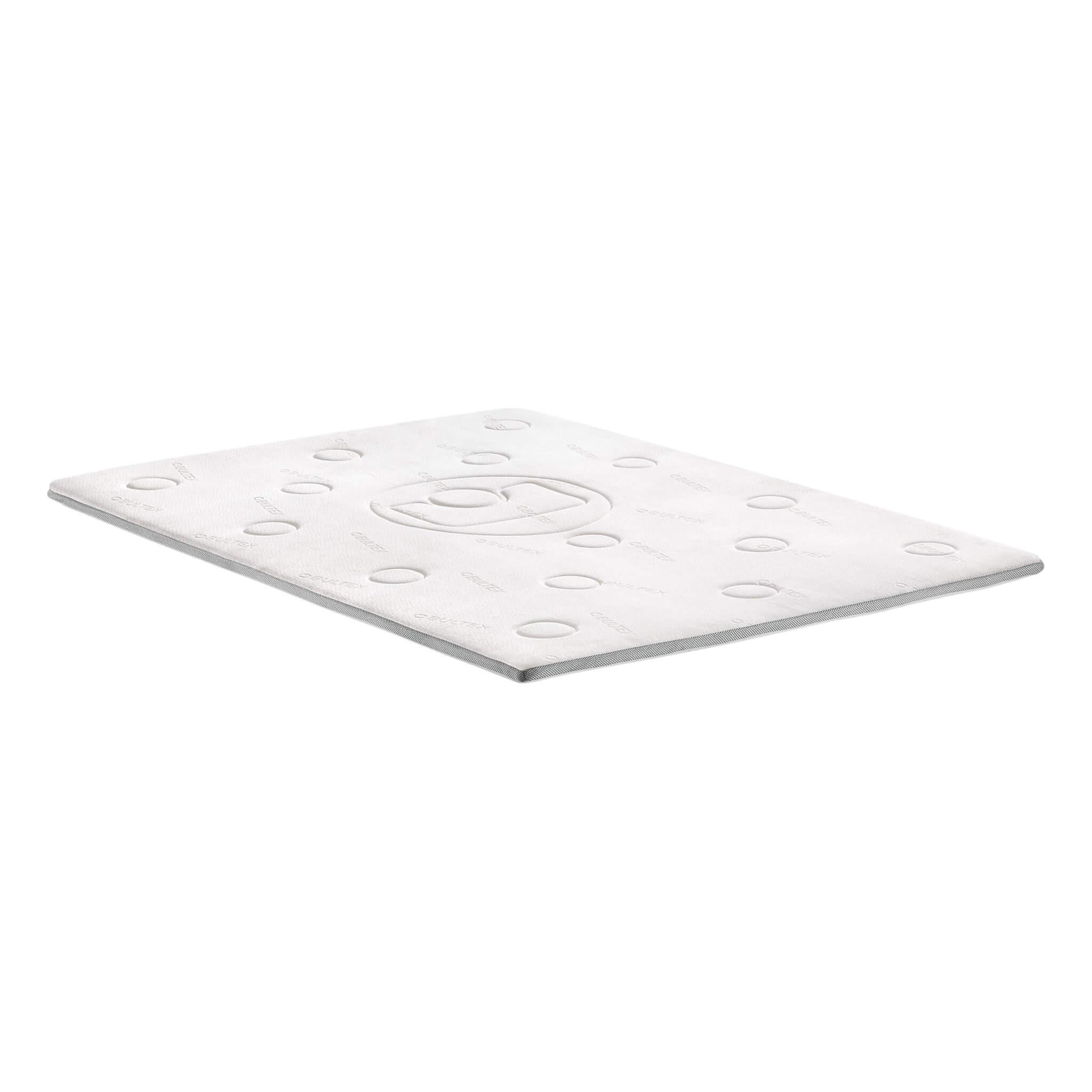 Surmatelas confort à mémoire de forme épaisseur 5cm 160x200