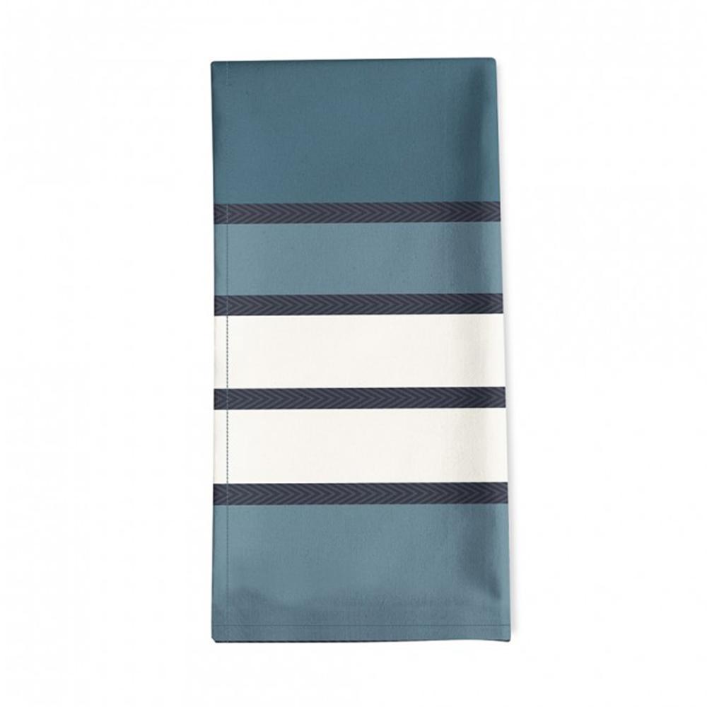Serviette de table bleu 50x50