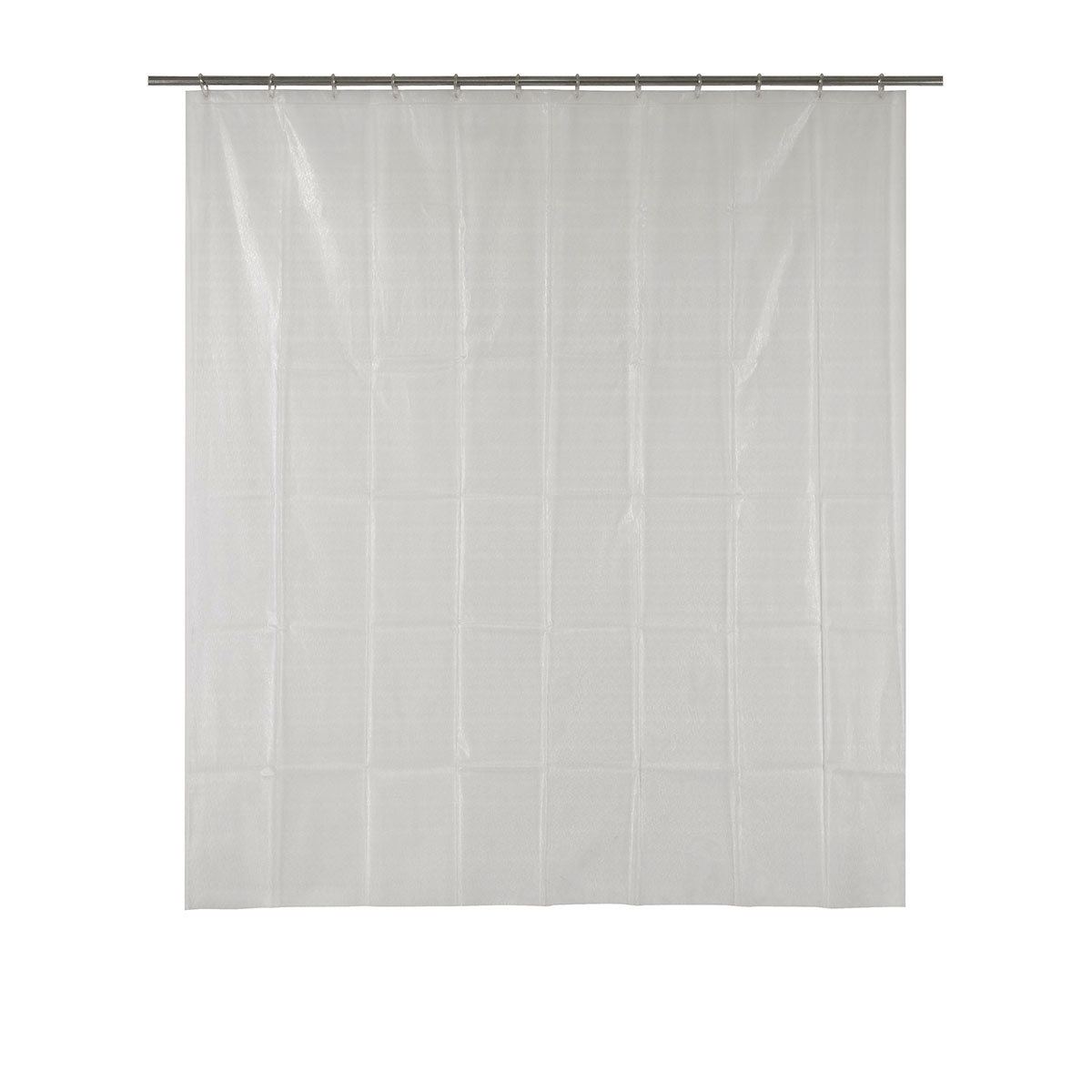 Rideau de douche avec lignes en 3d transparent