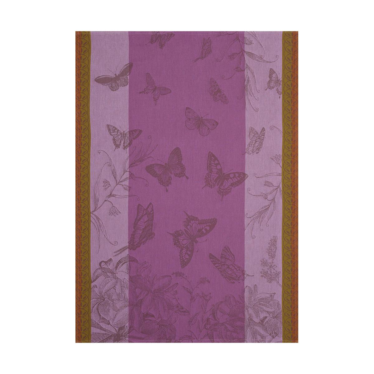 Torchon en coton iris 60 x 80