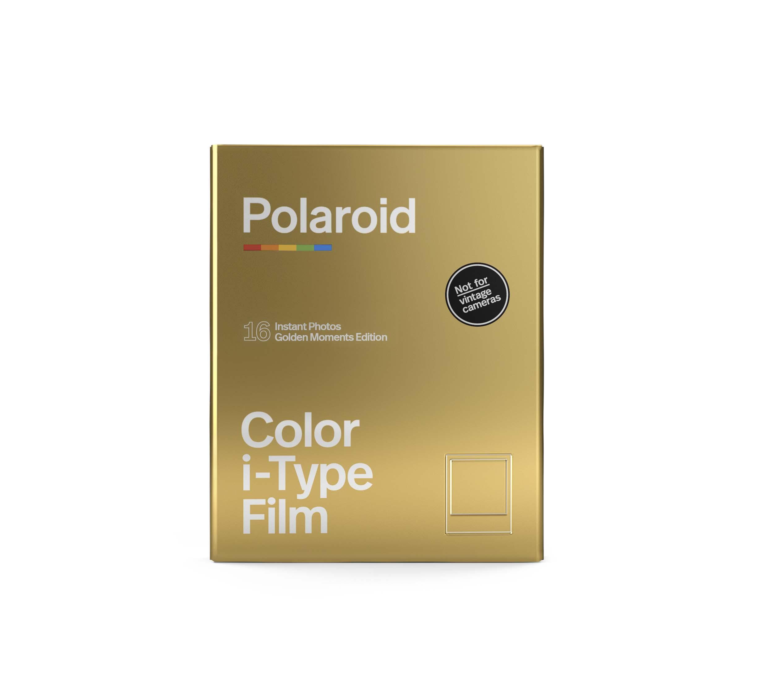 Papier photo instantané Polaroid (2x) 8 feuilles Golden Moments