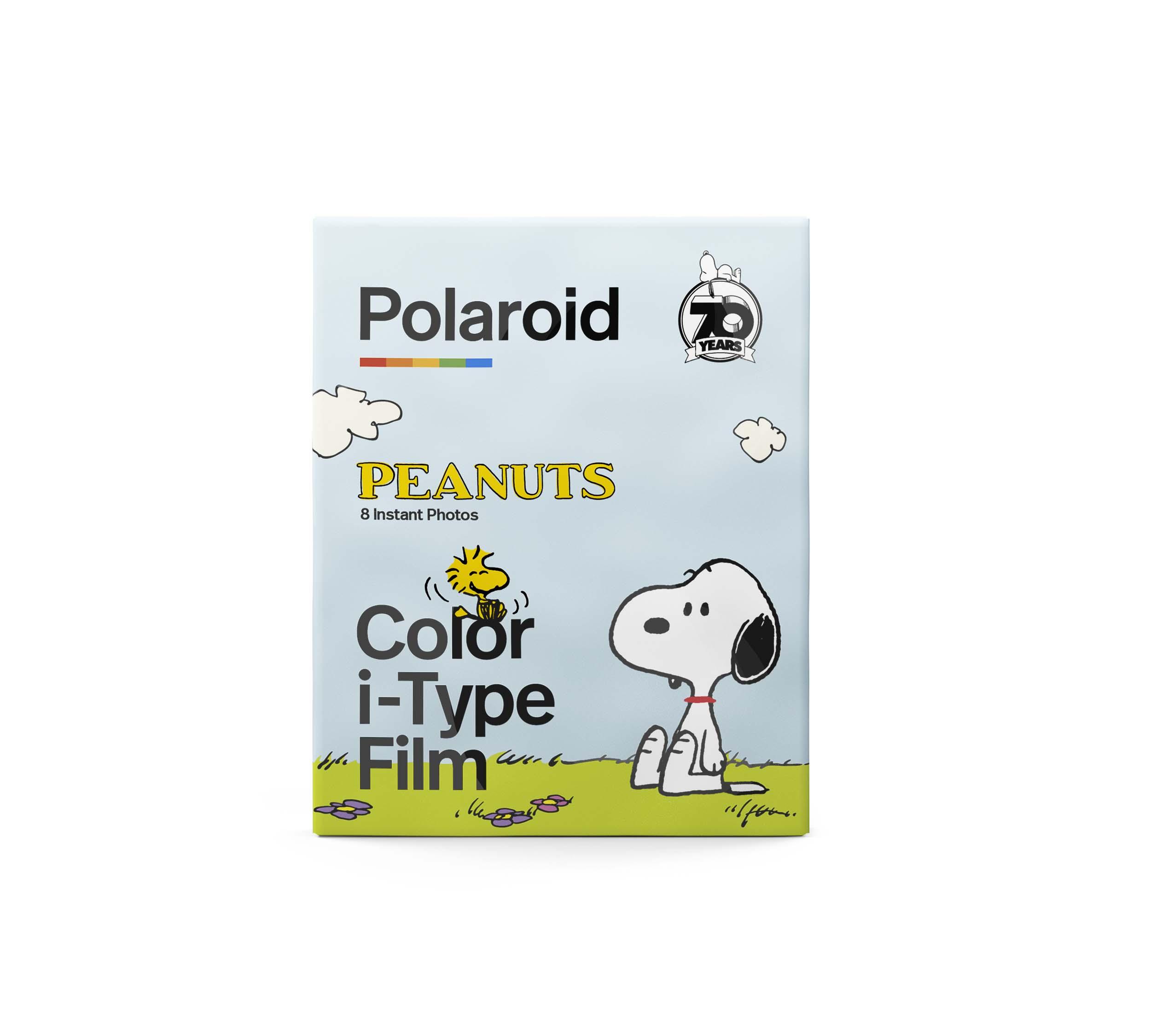 Papier photo instantané Polaroid 8 feuilles pour Peanuts Edition