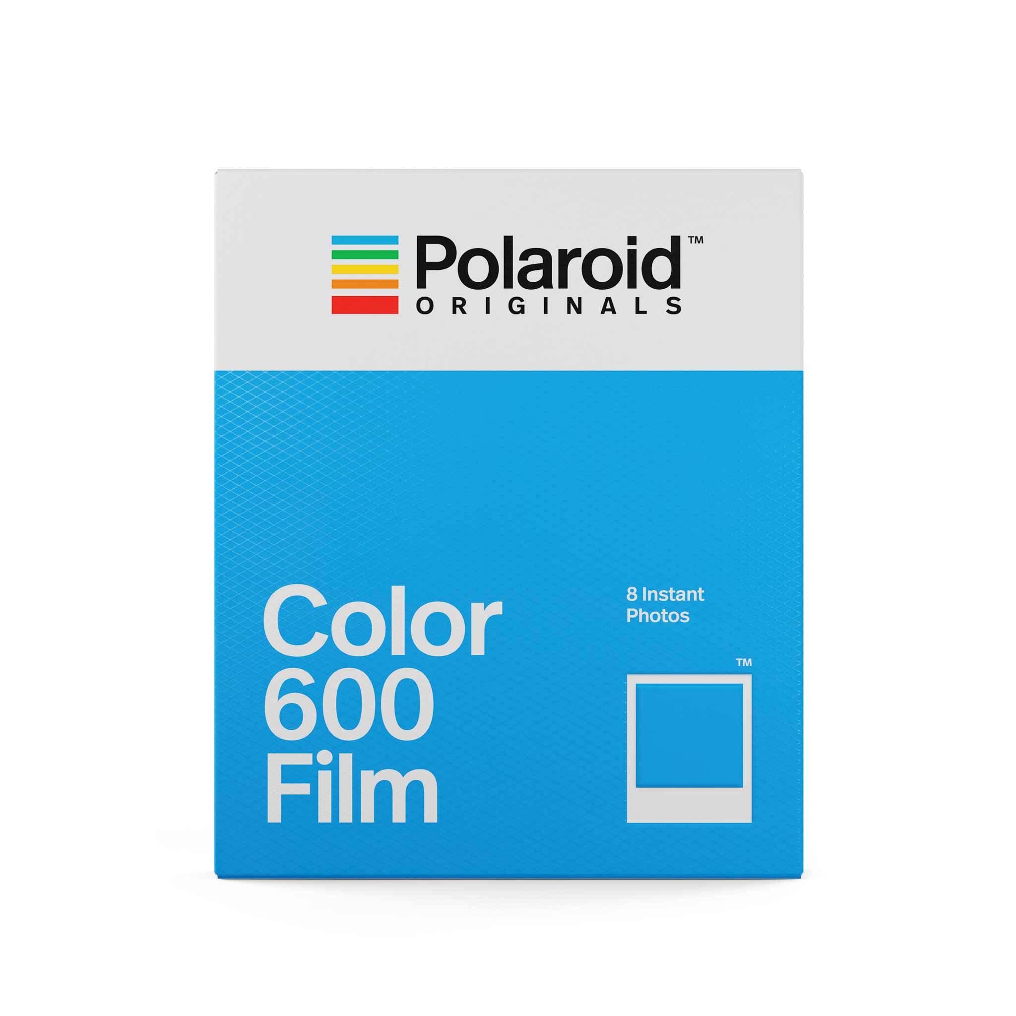 Papier photo instantané Polaroid 8 feuille Color 600 Film