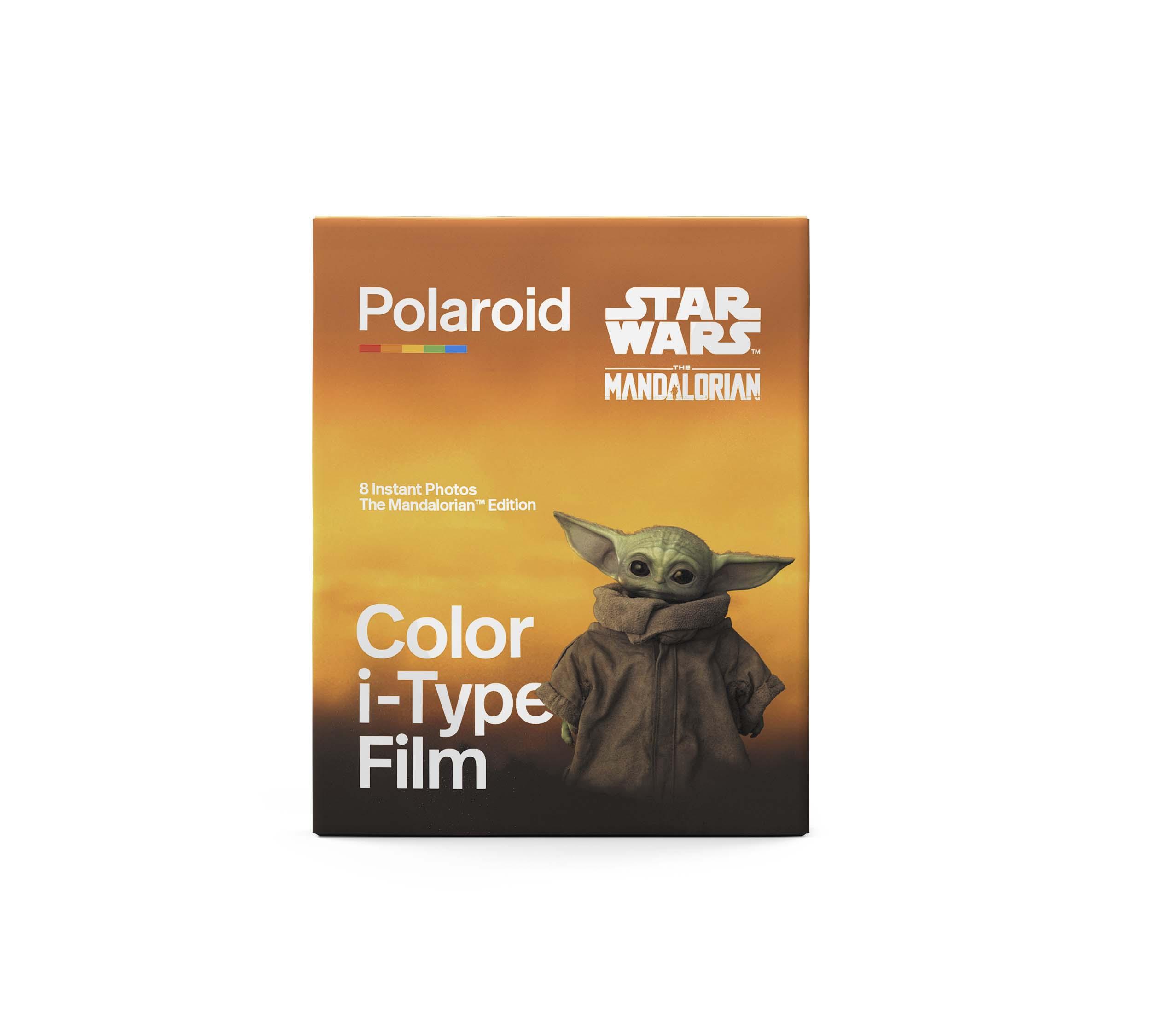 Papier photo instantané Polaroid 8 feuilles pour Mandalorian Edition