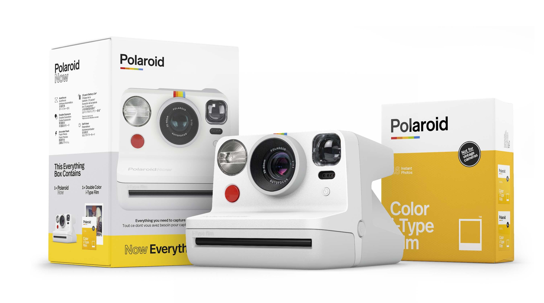 Coffret appareil photo instantané et recharges Polaroid Now blanc