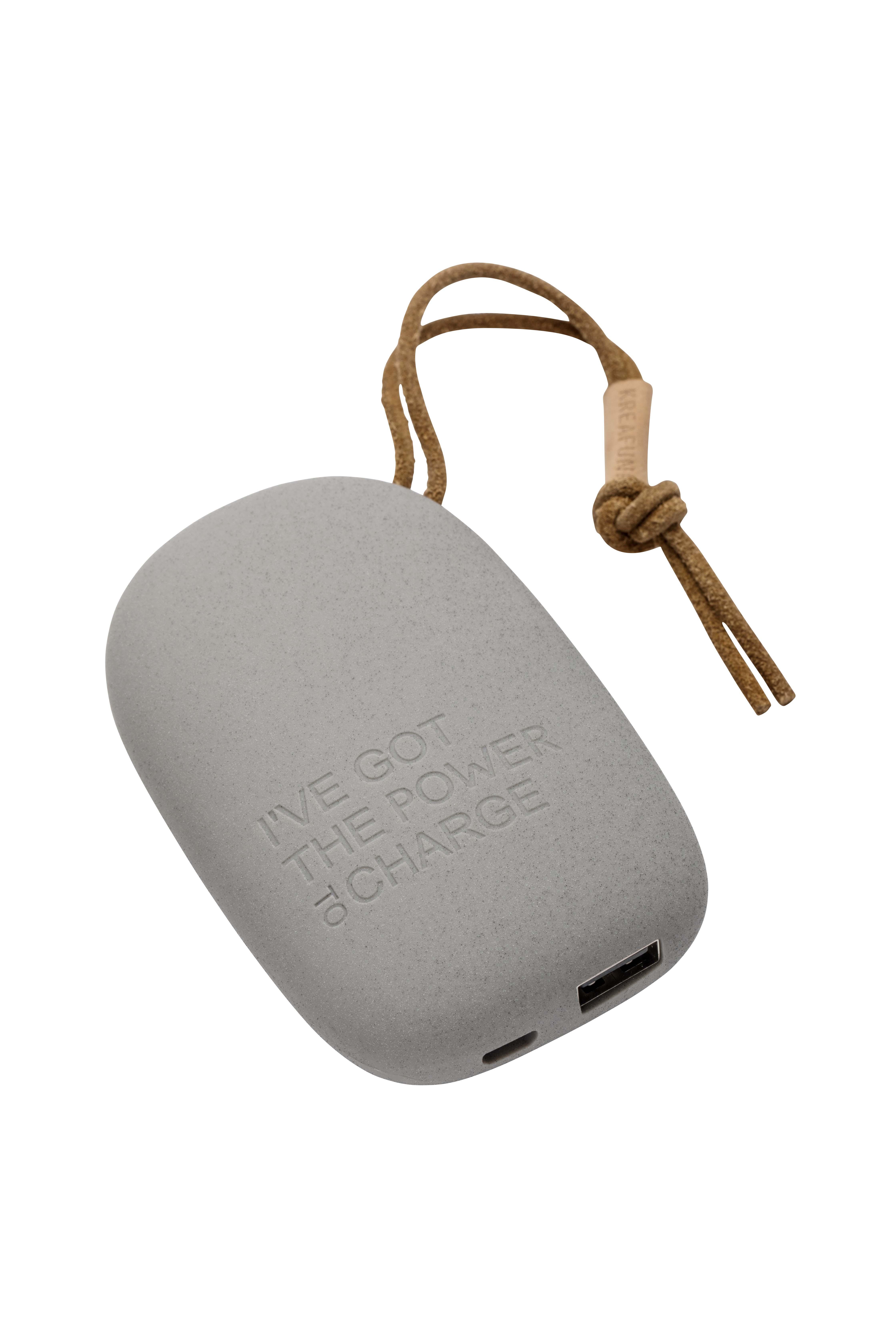 Batterie externe portable gris