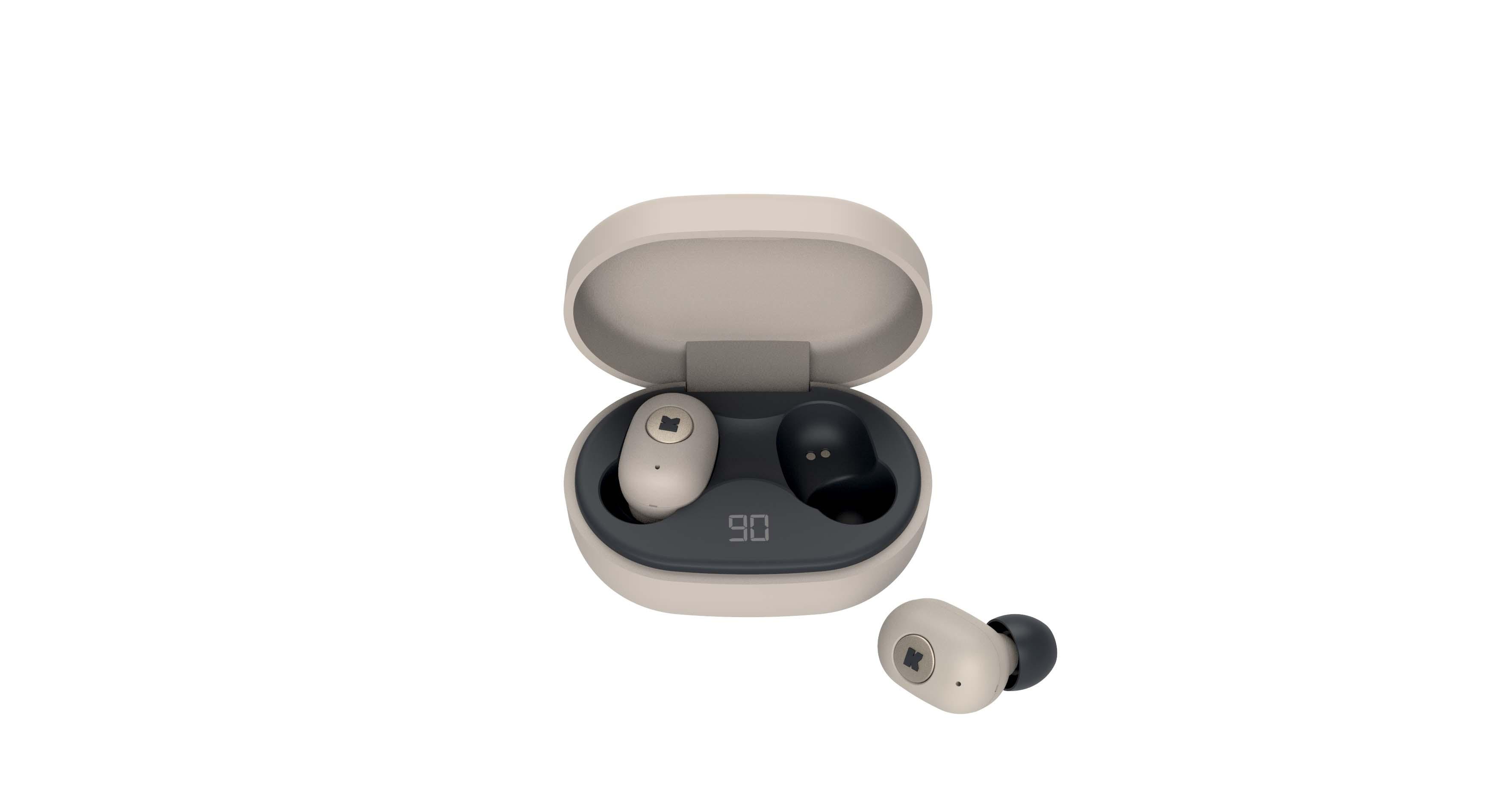 Écouteurs bluetooth TWS ivoire
