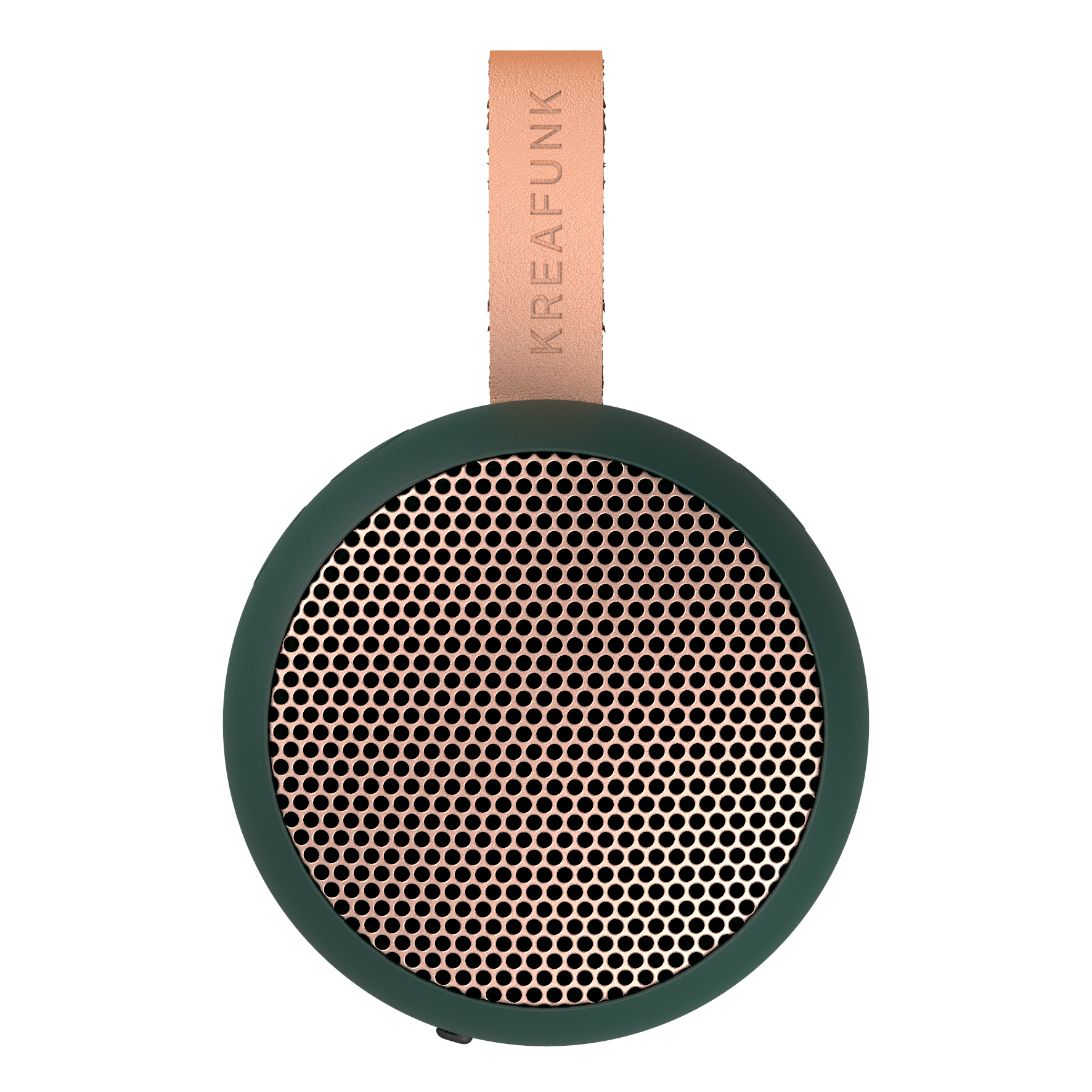 Enceinte portable 5.0 bluetooth rose et vert