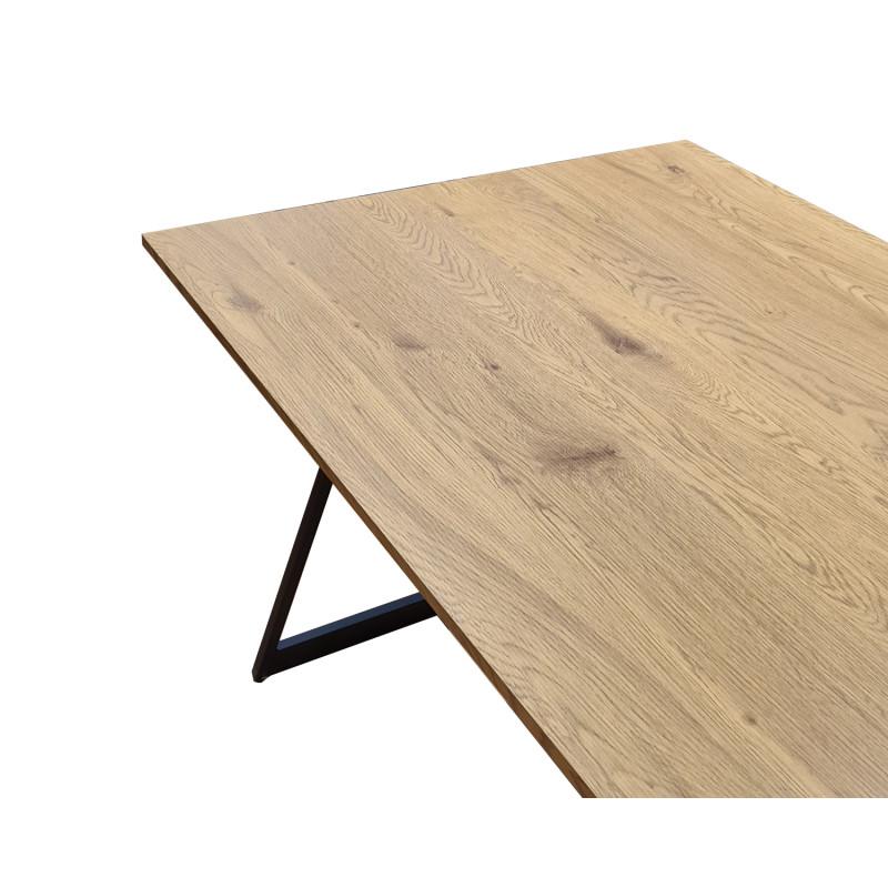 Table de repas fixe 160 cm rectangulaire