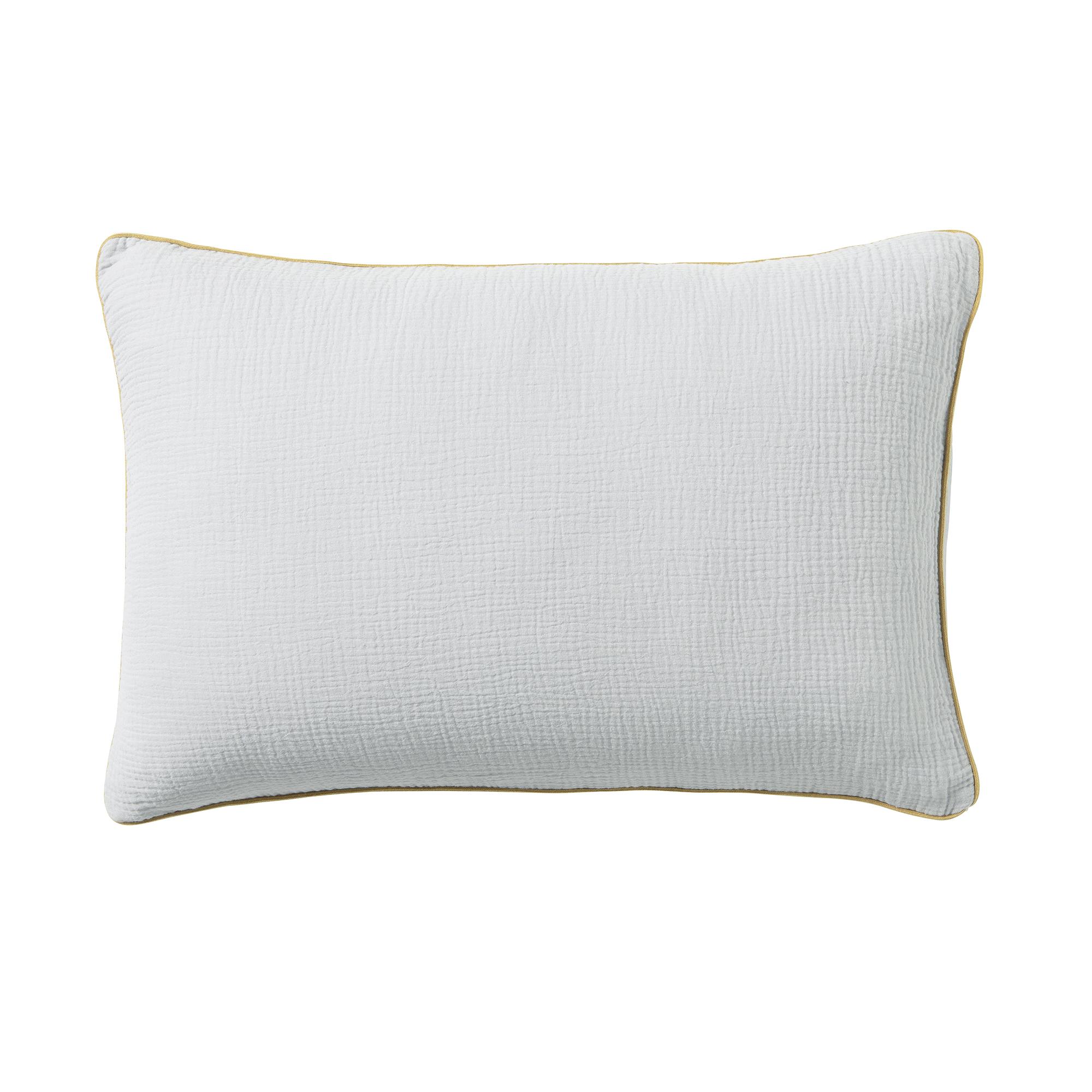 Housse de coussin en coton lavée 40x60