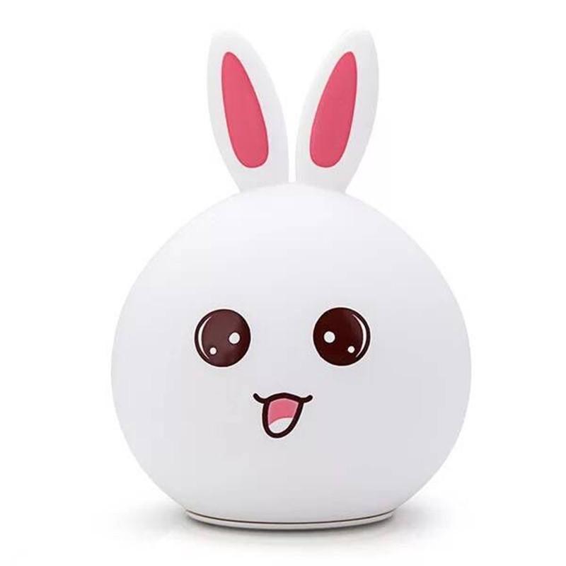 Lampe à poser design rechargeable lapin