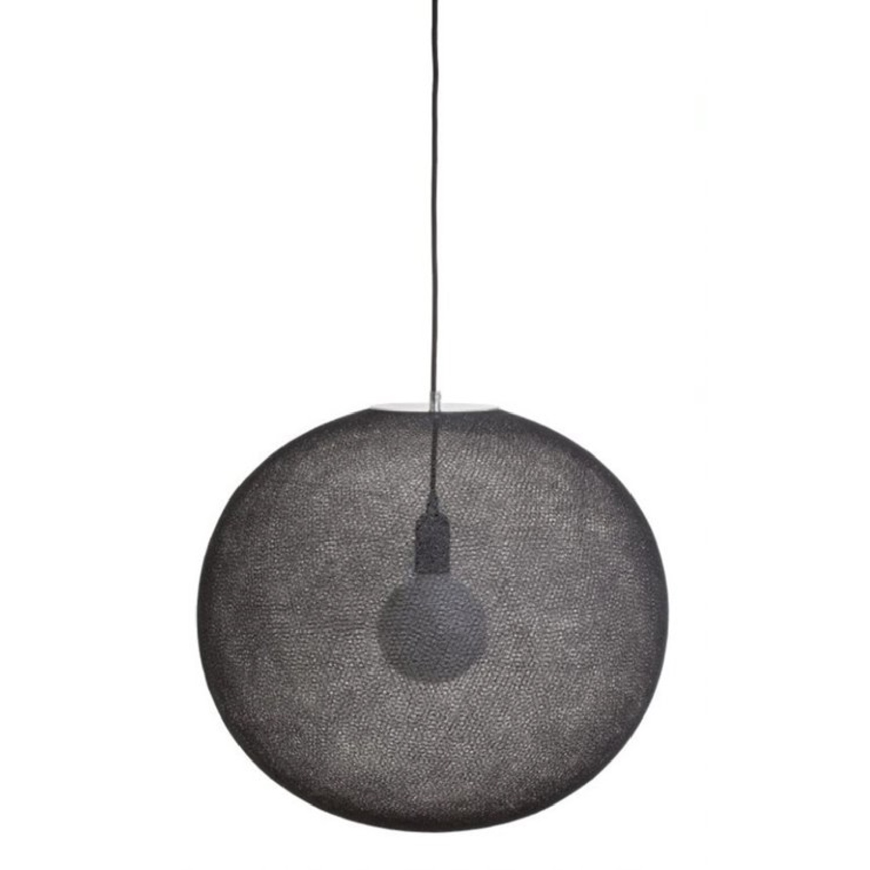 Suspension globe fil tissé D50cm