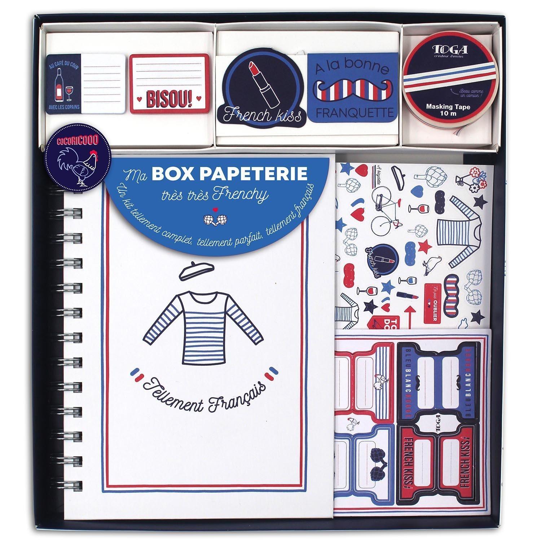 Kit carnet ma box papeterie frenchy
