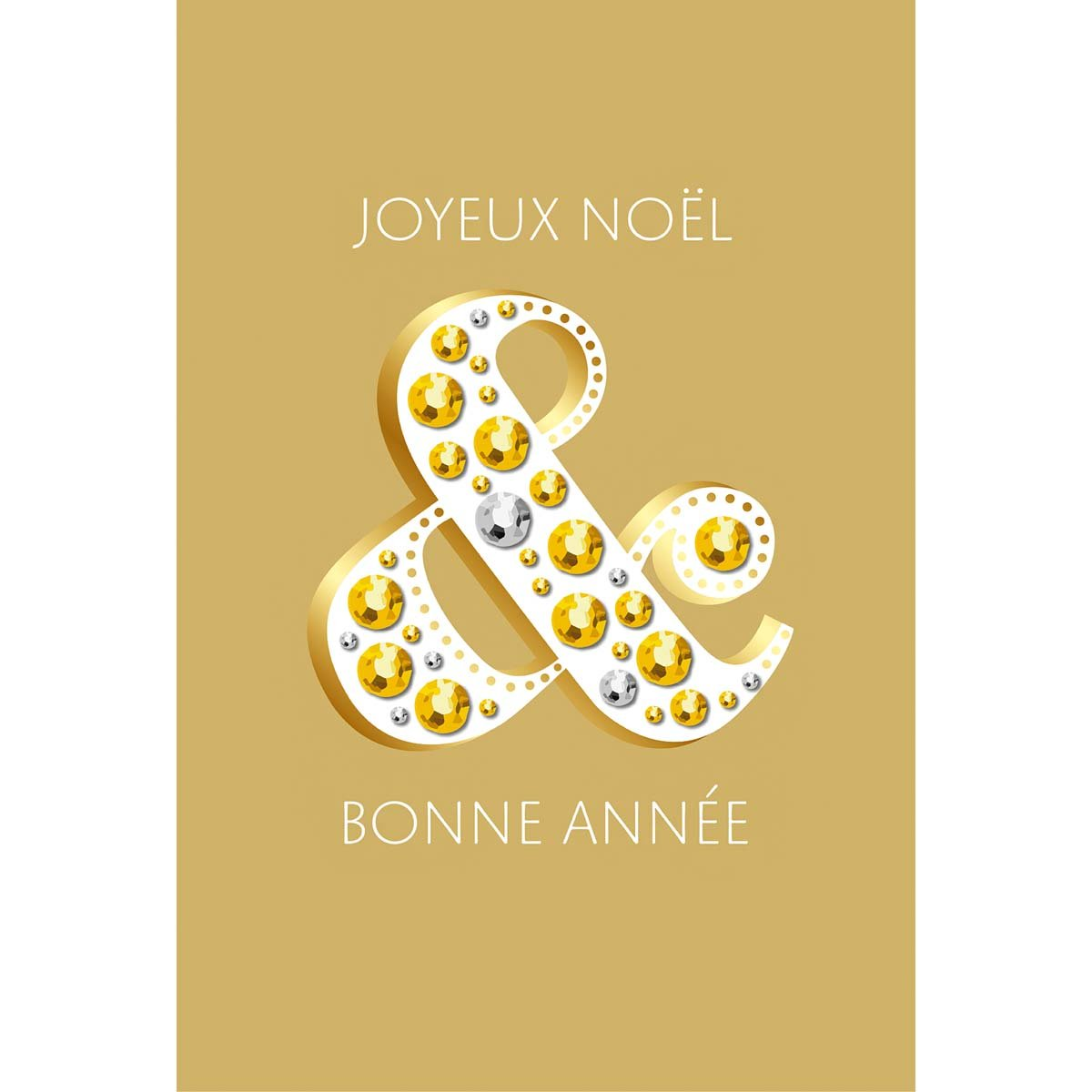 Carte de voeux joyeux noël & bonne année