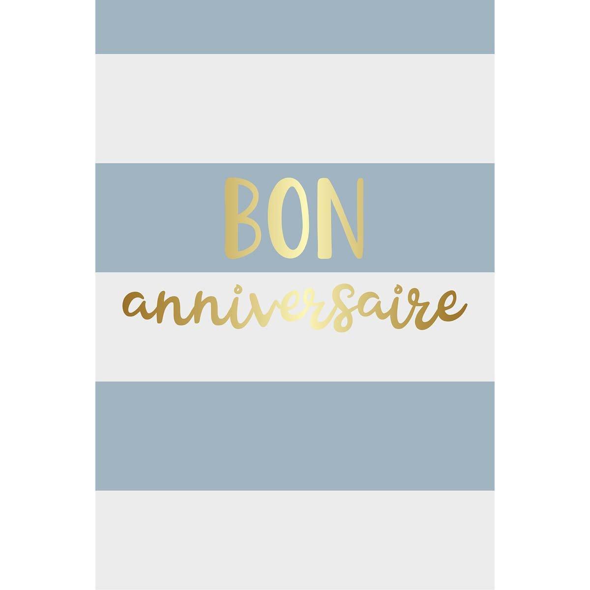 Carte de voeux bon anniversaire