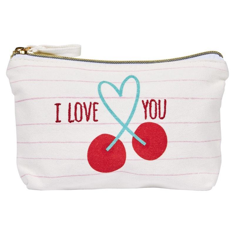 Pochette coton i love you