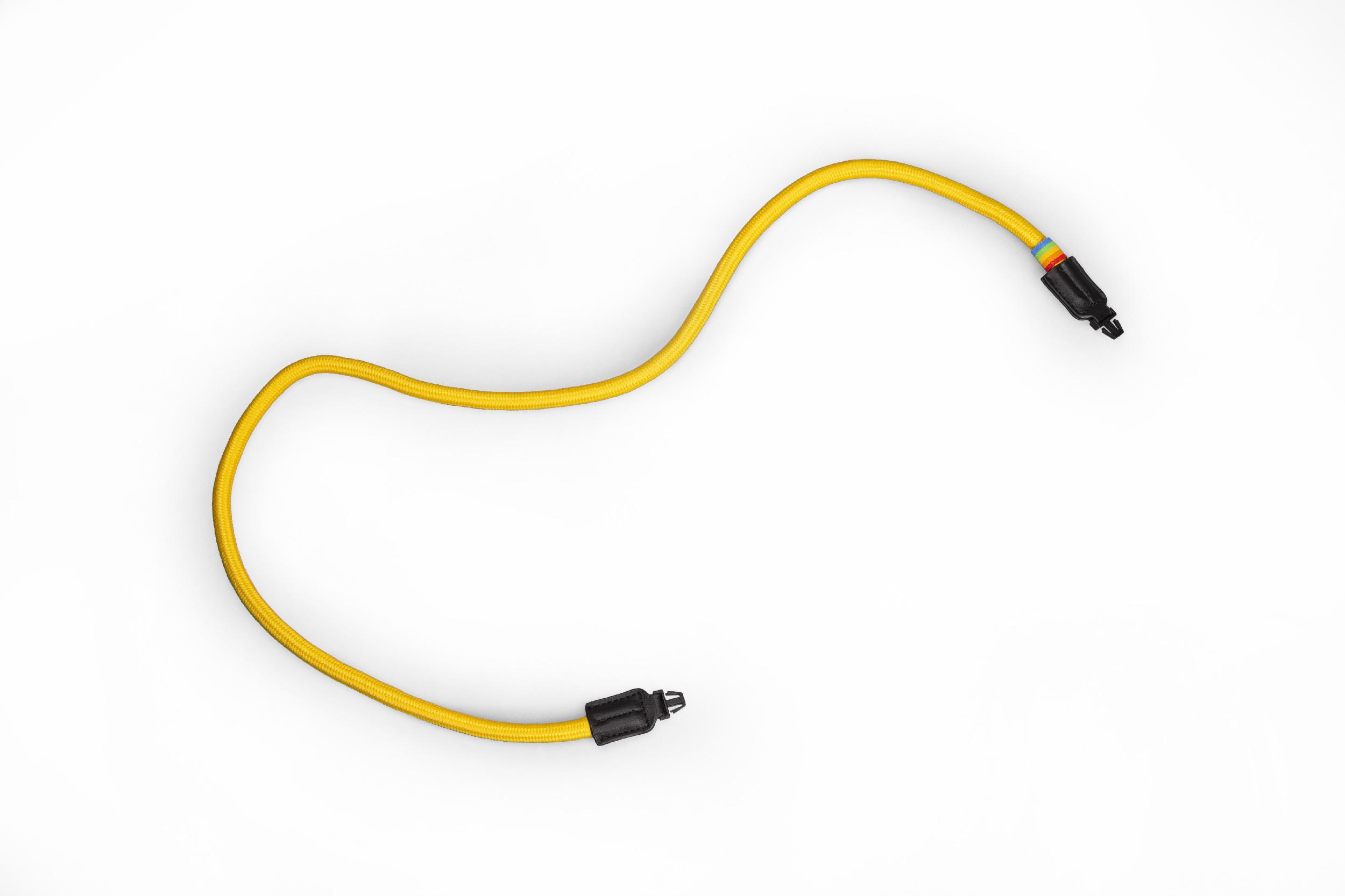 Corde Polaroid Camera Strap Round jaune