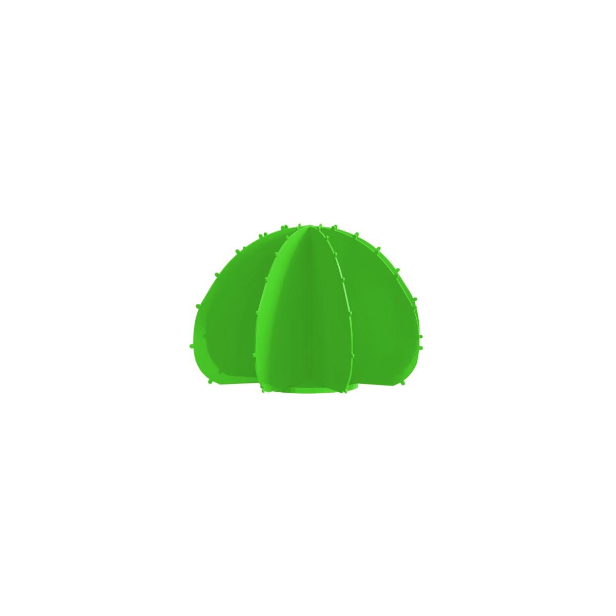 Cactus boule mini en aluminium vert clair D22cm