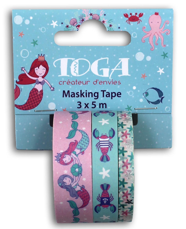 Masking tape motif sirène