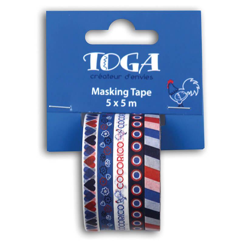 Mini masking tape motif frenchy