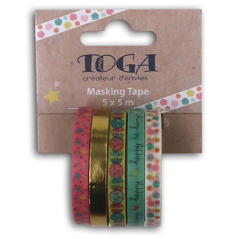 Mini masking tape happy days