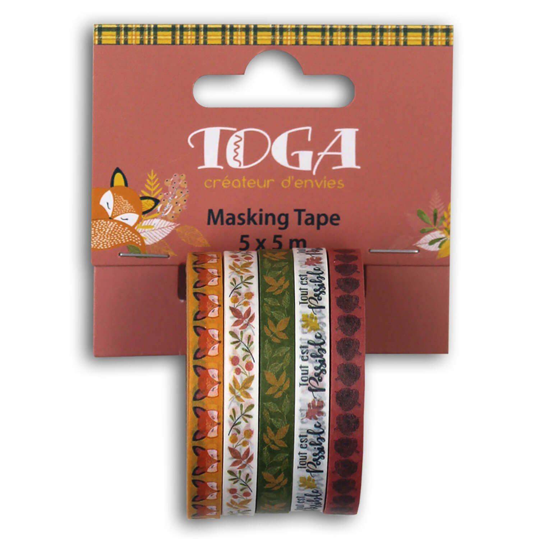 Mini masking tape motif fleuri