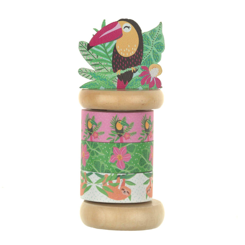 Mini masking tape motif tropical