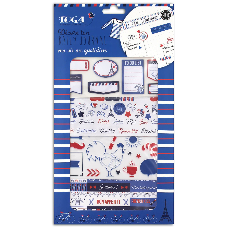 Set de personnalisation bullet journal frenchy