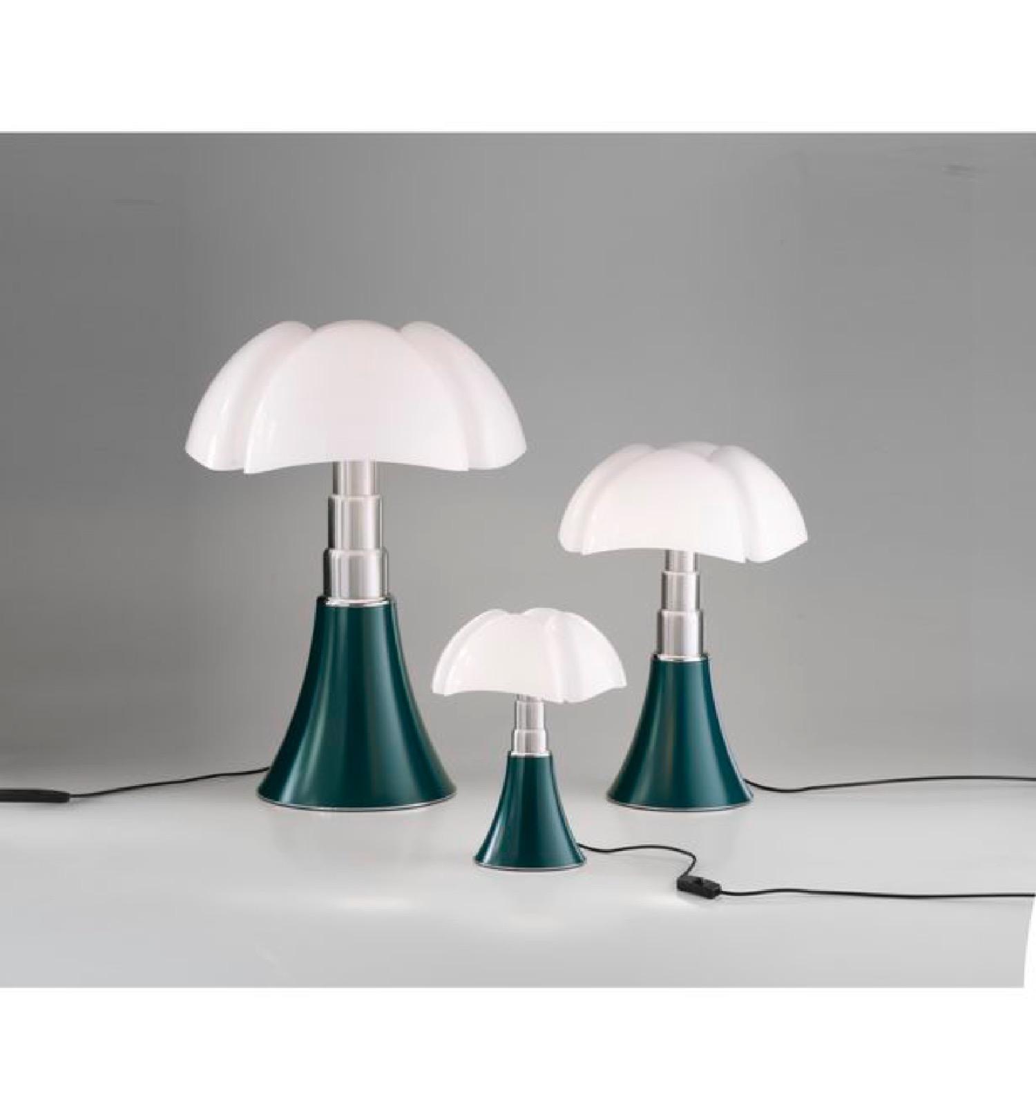 Lampe LED vert H35cm