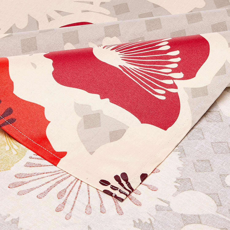 Nappe en coton enduit acrylique multicolore 160x30,0 cm