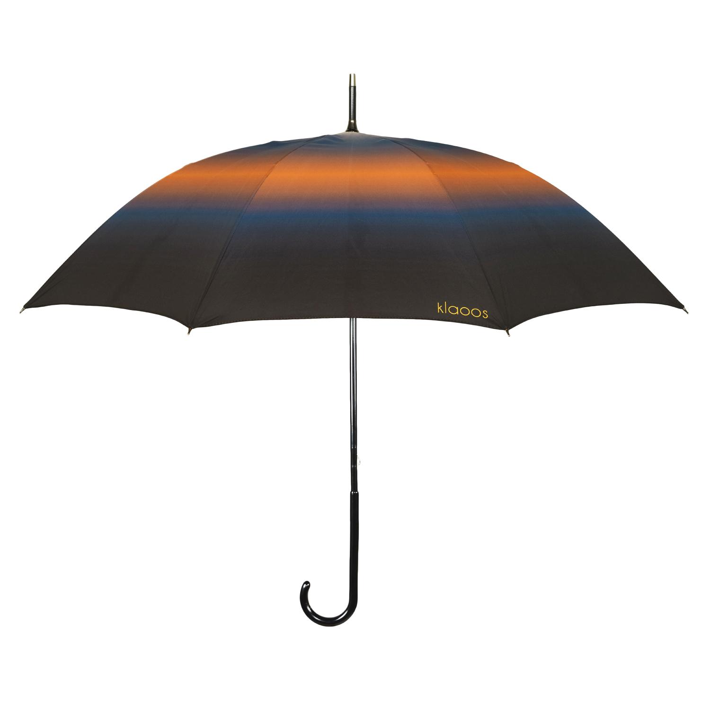 Parapluie en textile recyclé bleu rouille