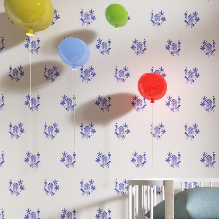 Rouleau de papier peint imprimé ferme