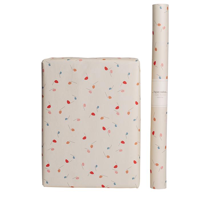 Papier cadeau style moderne