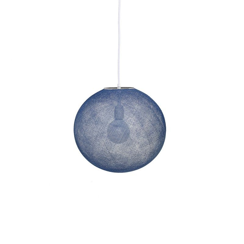 Globe indigo D36cm