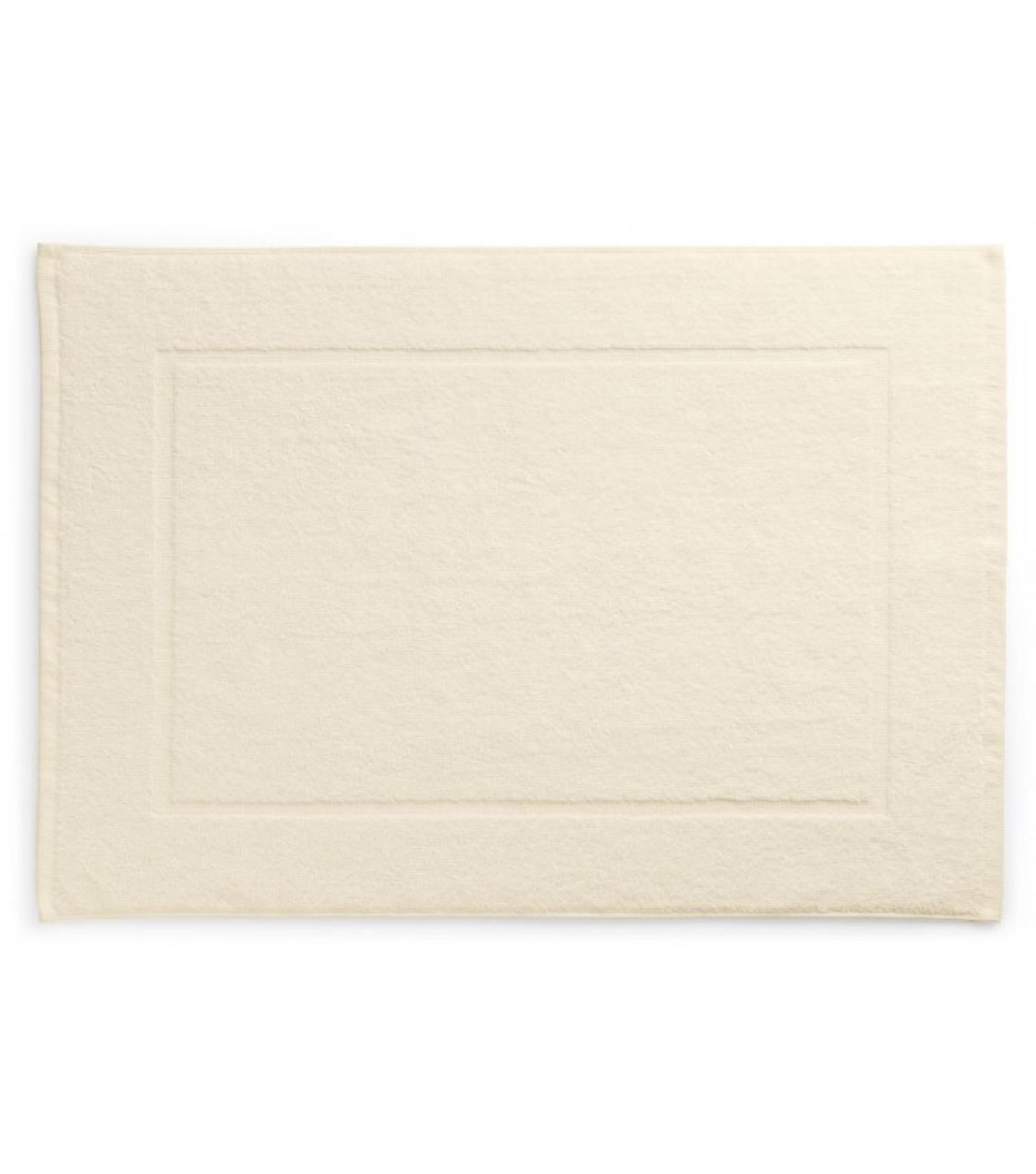 Tapis de bain 100% coton beige 70x50cm