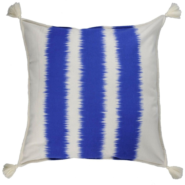 Housse de coussin imprimé 50x50 Bleu cobalt