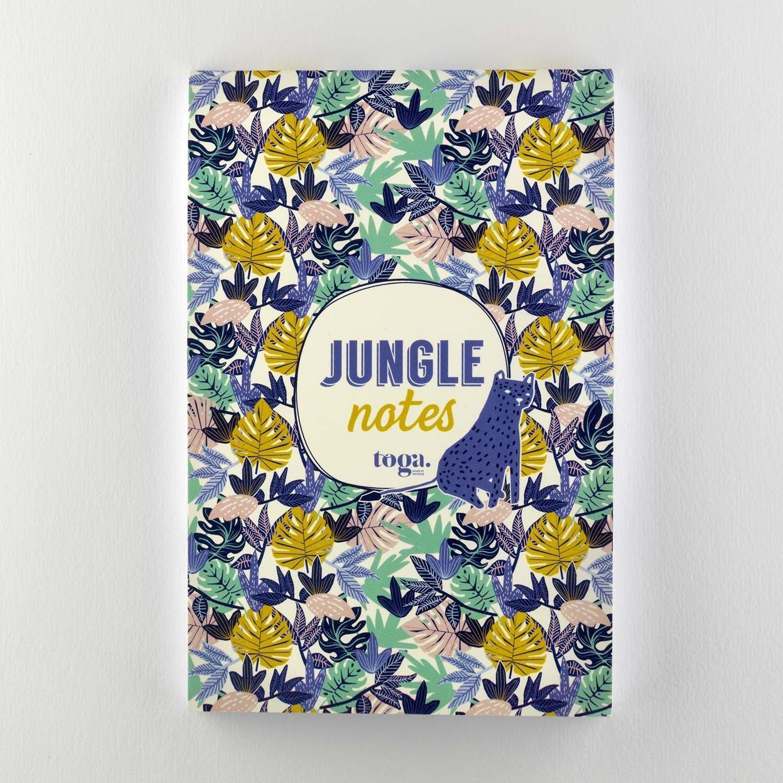 Bloc-notes jungle vibes