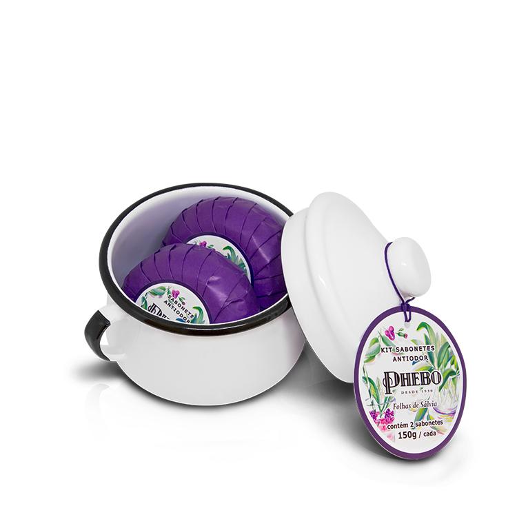 Coffret avec 2 savons anti-odeurs