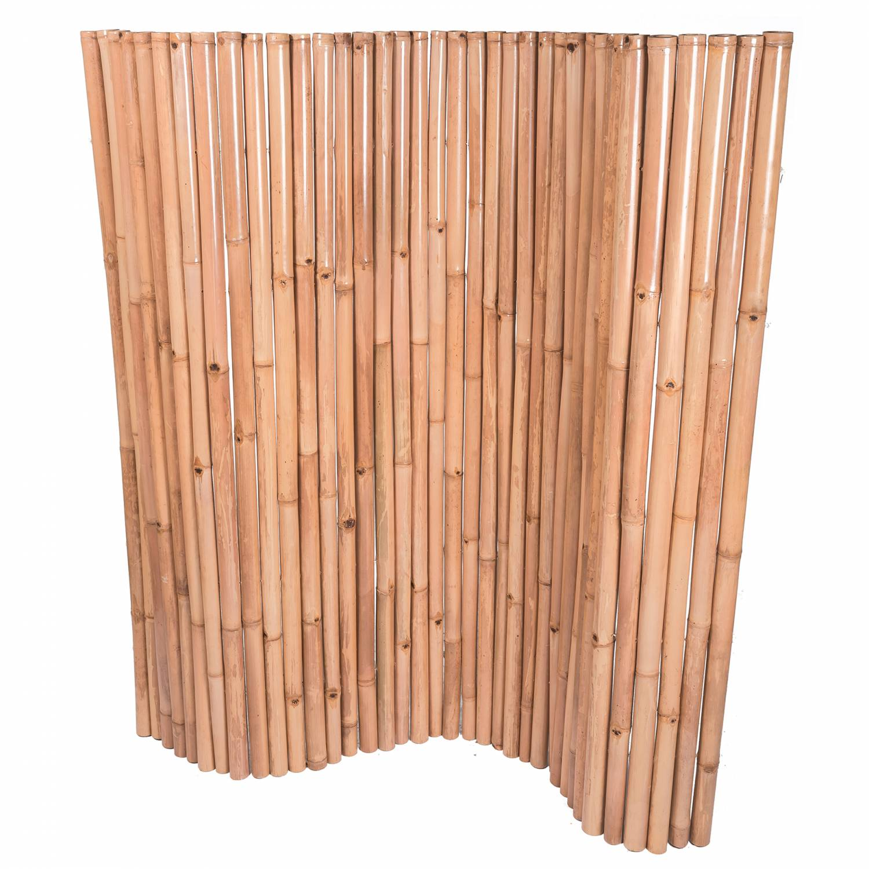 Palissade flexible en bambou
