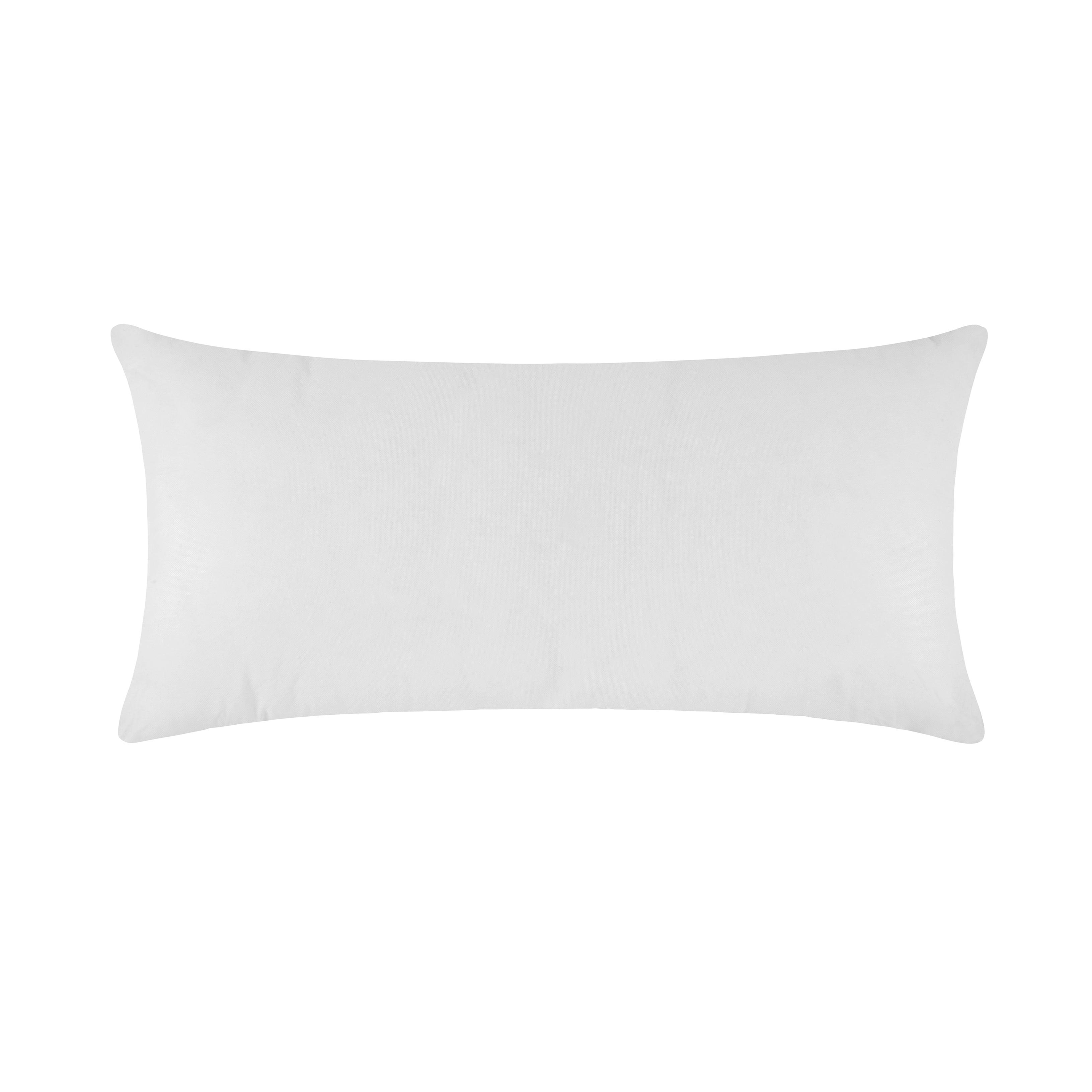 Coussin de garnissage 55x110 cm Blanc
