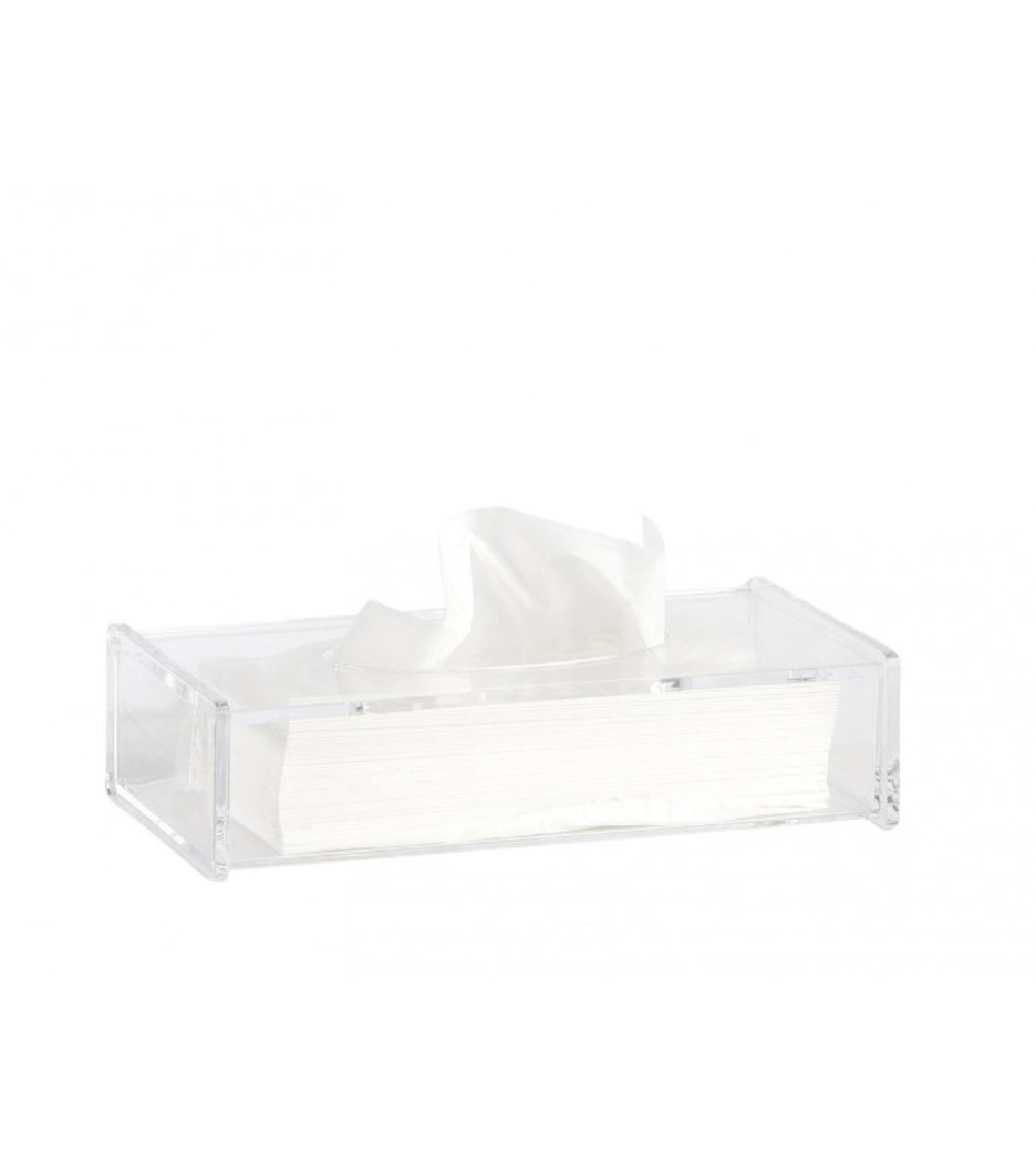 Boîte à mouchoirs transparente (photo)