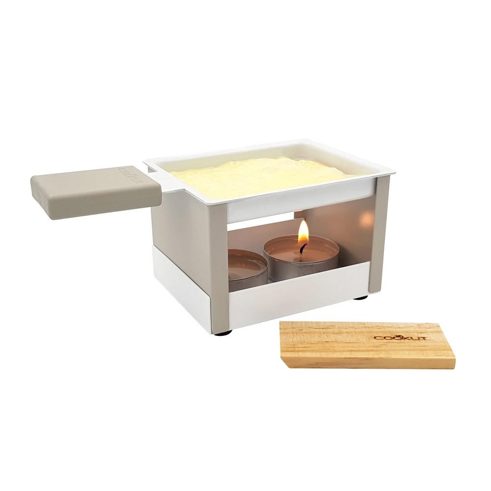 Raclette individuelle à la bougie gris