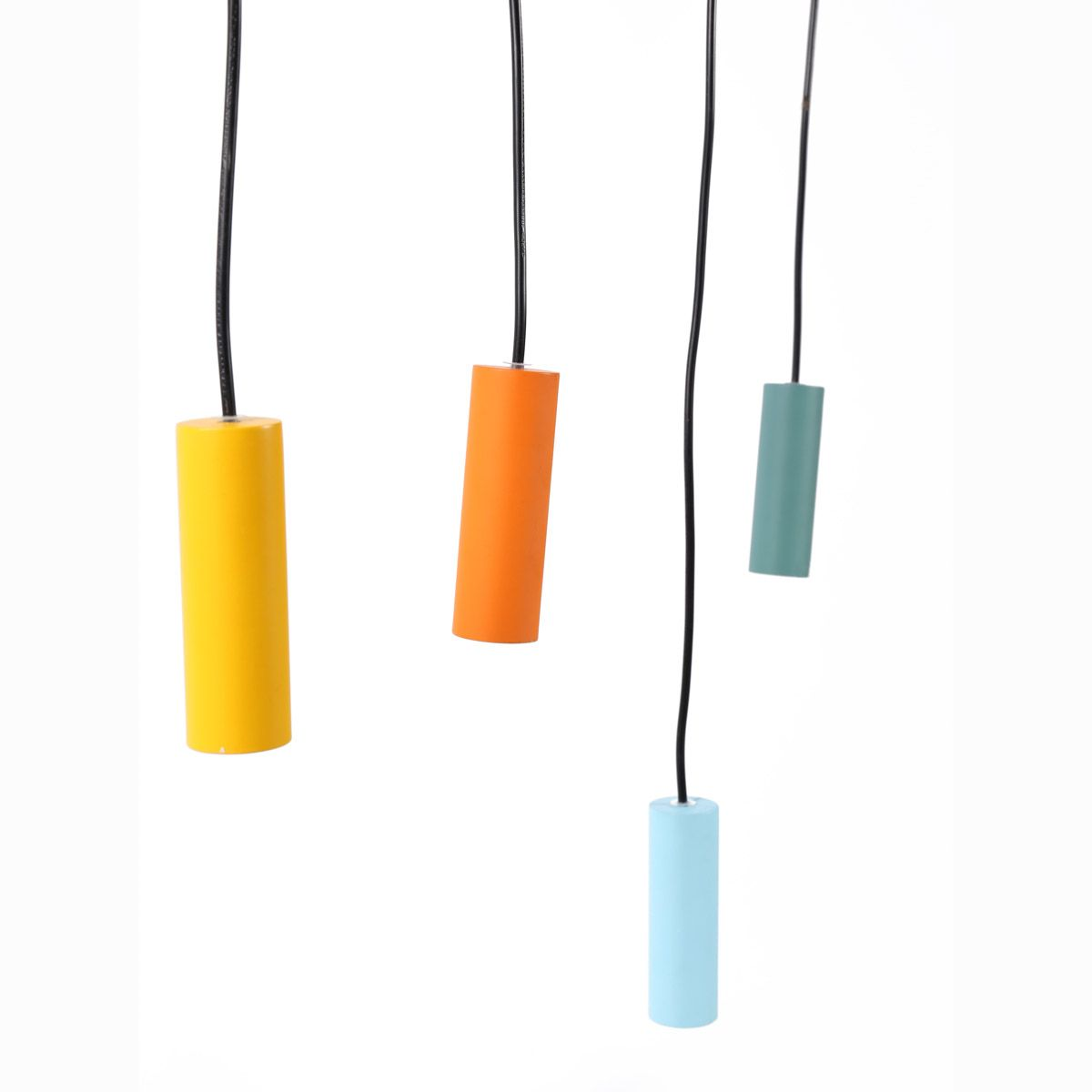 Suspension en fer et aluminium 4 couleurs