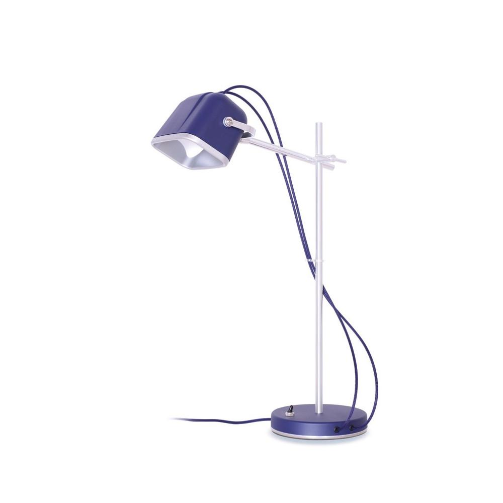 Lampe à poser en aluminium violet H60cm