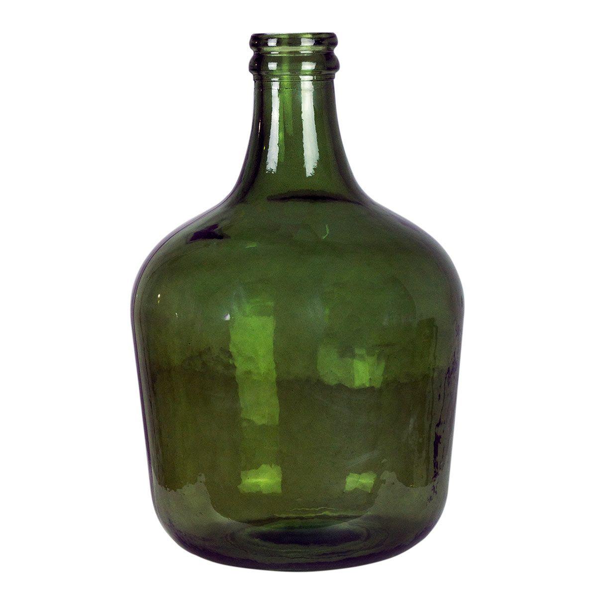 Bonbonne dame jeanne 12L vert
